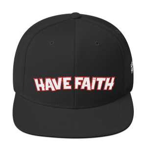 Have Faith (PSG 5's) Snapback - Shop Men, Women, Kids clothing and accessories To Match Your Kicks online