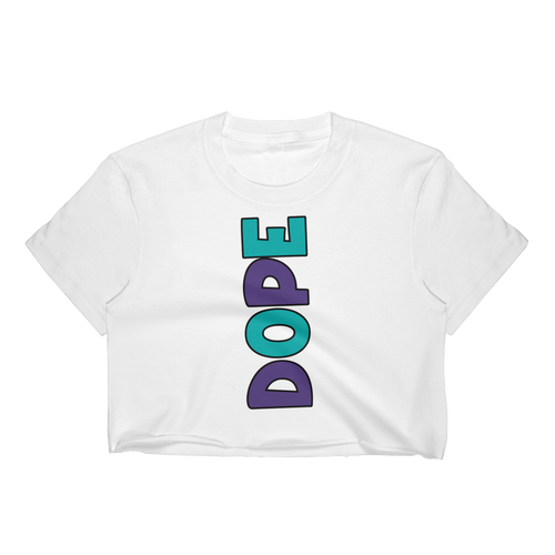 Dope (Grape 5's) Women's Crop Top - Shop Men, Women, Kids clothing and accessories To Match Your Kicks online