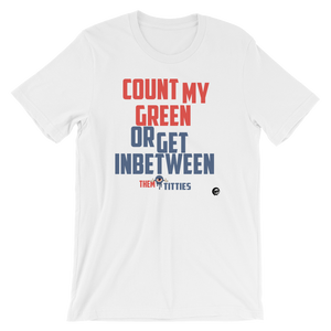 Count My Green (True Blue 3s) T-Shirt - Shop Men, Women, Kids clothing and accessories To Match Your Kicks online