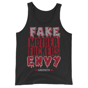 F.A.M.E (Satin Bred 5's) Tank Top - HaveFaithClothingCo