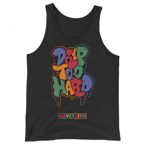 Drip Too Hard (Tinker 8's) Tank Top - HaveFaithClothingCo