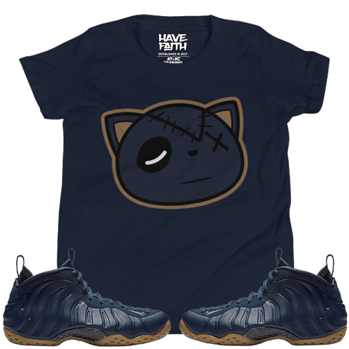 Have Faith (Midnight Navy Foams) Youth Short Sleeve T-Shirt