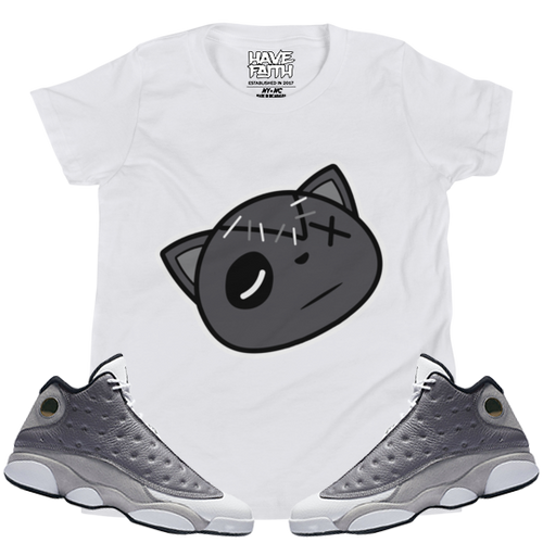 Have Faith (Atmosphere Grey 13's) Kids T-Shirt - HaveFaithClothingCo