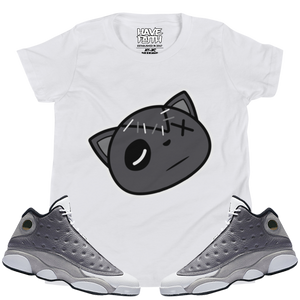 Have Faith (Atmosphere Grey 13's) Kids T-Shirt