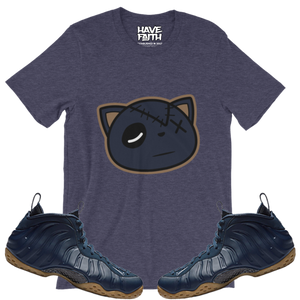 Have Faith (Midnight Navy Foams) T-Shirt