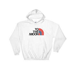 To The Moon (True Blue 3s) Hoodie - HaveFaithClothingCo