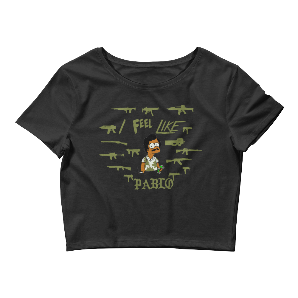 I Feel Like Pablo (Altitude 13s) Women's Crop Tee - HaveFaithClothingCo