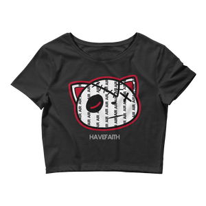 Have Faith Air (Pinstripe Uptempo) Women's Crop Top - Shop Men, Women, Kids clothing and accessories To Match Your Kicks online