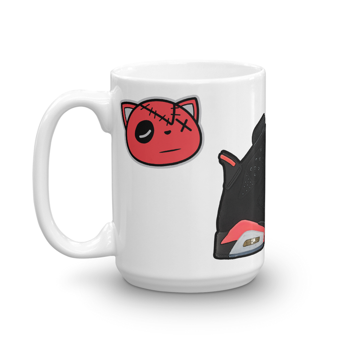 Air Jordan Retro 6 Infrared Mug - HaveFaithClothingCo