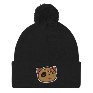 Have Faith (Black Laser 4's) Pom Pom Beanie