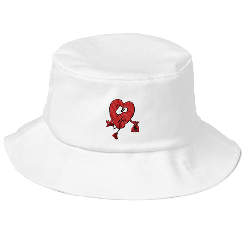 Vday Swag (Valentines Day 8's) Old School Bucket Hat - HaveFaithClothingCo