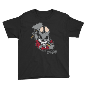 Bad Bunny (Katrina 3s) Youth Short Sleeve T-Shirt - HaveFaithClothingCo