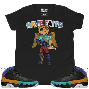 HF In The Fort (Dream It, Do It 9's) Youth Short Sleeve T-Shirt - Shop Men, Women, Kids clothing and accessories To Match Your Kicks online