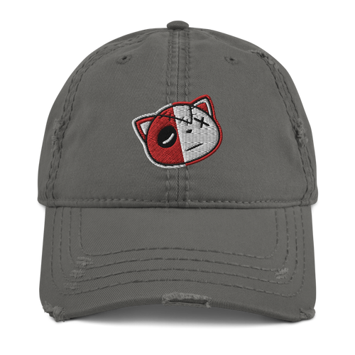 Have Faith (Red Cement Retro 3's) Distressed Dad Hat - HaveFaithClothingCo