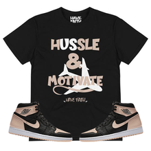 Hussle & Motivate (Crimson Tint 1's) T-Shirt