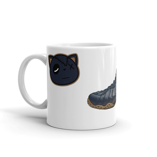 Nike Air Foamposite One Midnight Navy Mug - HaveFaithClothingCo