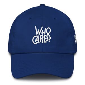 Who Cares (He Got Game 1's) Dad Hat - HaveFaithClothingCo