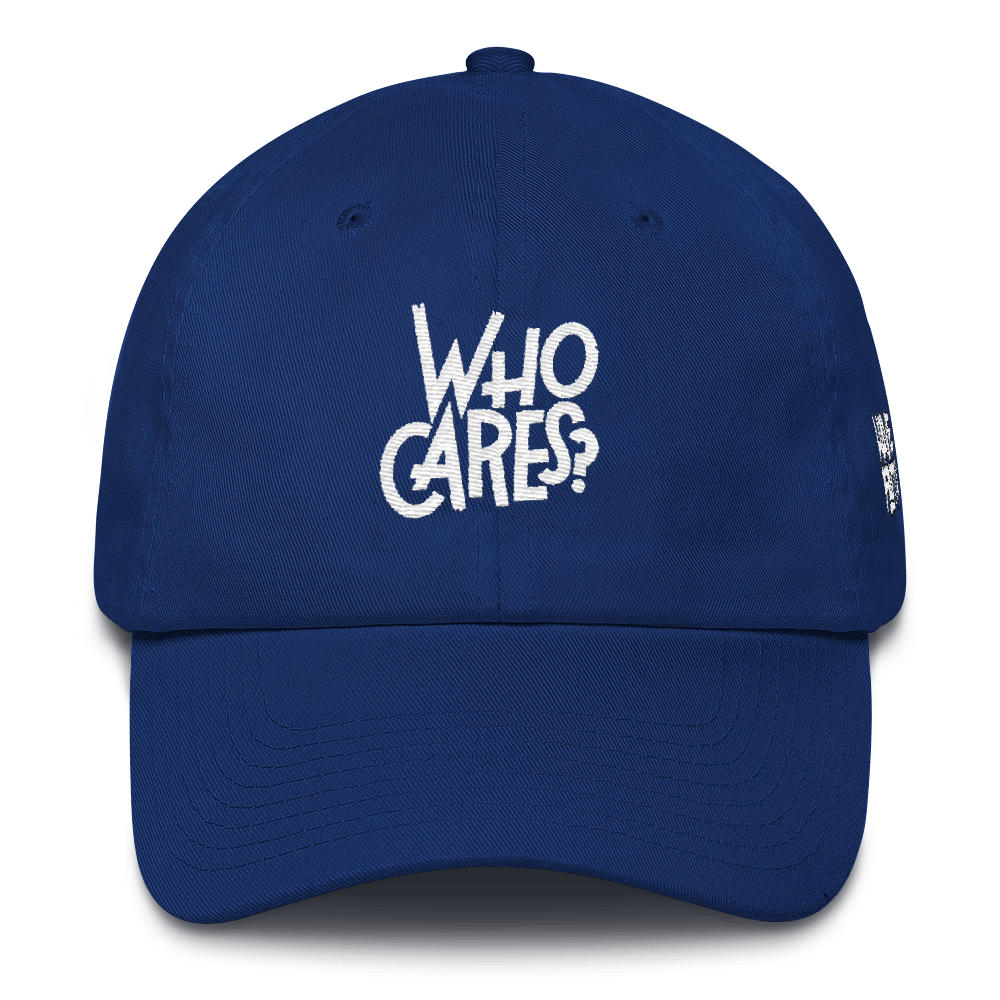 Who Cares (He Got Game 1's) Dad Hat - Shop Men, Women, Kids clothing and accessories To Match Your Kicks online