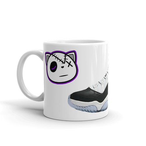 Air Jordan Retro 11 Concord Mug - HaveFaithClothingCo