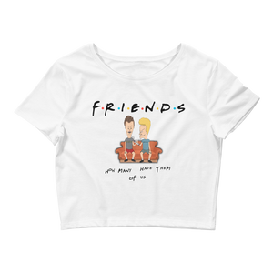 Friends (White Cement 3s) Women's Crop Tee - HaveFaithClothingCo
