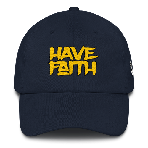 Have Faith (Michigan 12's) Dad hat - Shop Men, Women, Kids clothing and accessories To Match Your Kicks online