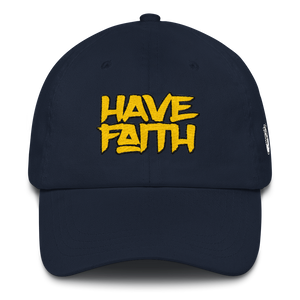 Have Faith (Michigan 12's) Dad hat - HaveFaithClothingCo