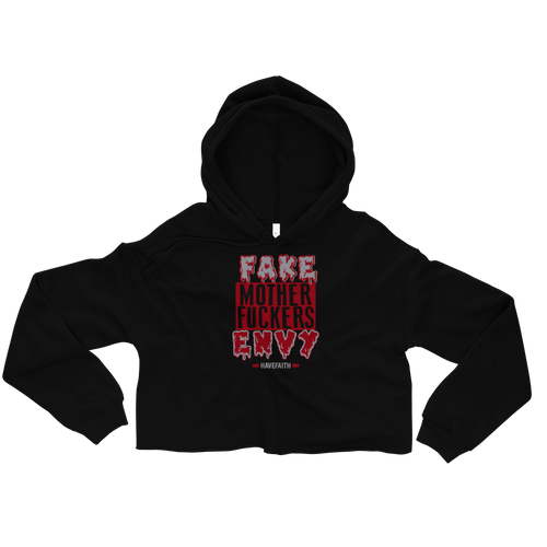 F.A.M.E (Satin Bred 5's) Crop Hoodie - Shop Men, Women, Kids clothing and accessories To Match Your Kicks online