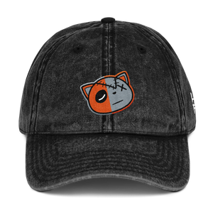 Have Faith (Jordan 1 Neutral Grey Hyper Crimson) Vintage Dad Hat