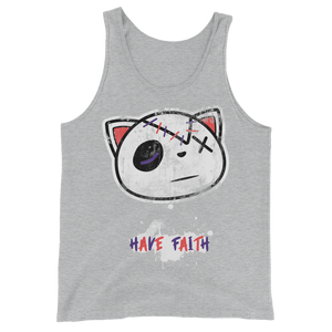Grunge Have Faith (Flint Grey 6's) Tank Top - HaveFaithClothingCo