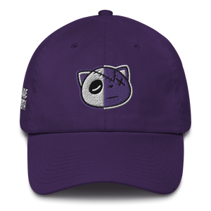 Have Faith (Metallic Purple Retro 4's) Dad Hat - HaveFaithClothingCo