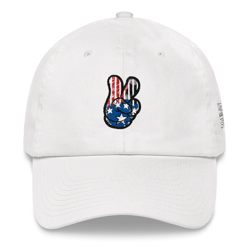 Peace (Westbrook 10's) Dad hat - HaveFaithClothingCo