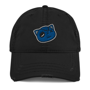 Have Faith (Retro 9 Racer Blue) Distressed Dad Hat - HaveFaithClothingCo