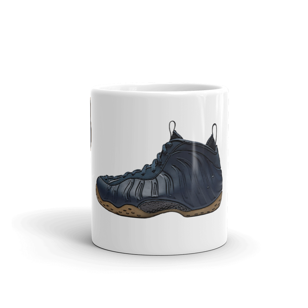 info for 00b10 8de08 Nike Air Foamposite One Midnight Navy Mug