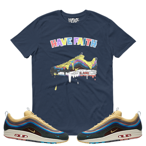 Dripped (Sean Wotherspoon x Nike Air Max 97/1) T-Shirt - HaveFaithClothingCo
