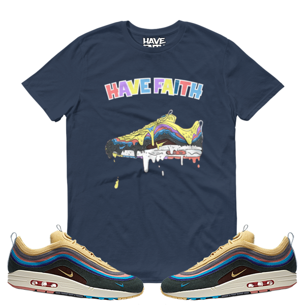 4906c97c Dripped (Sean Wotherspoon x Nike Air Max 97/1) T-Shirt ...