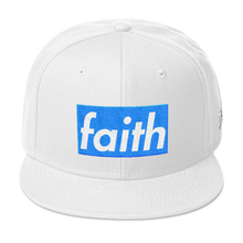 Faith (Pure White 3's) Snapback - HaveFaithClothingCo