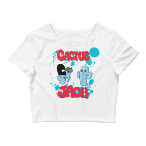 Cactus Jack (Cactus Jack 4's) Women's Crop Top - HaveFaithClothingCo