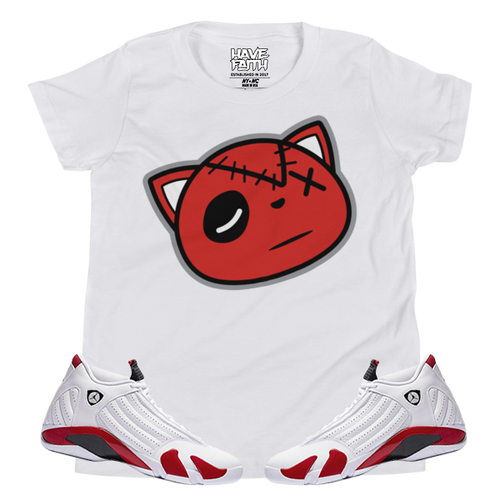 Have Faith (Candy Cane 14's) Youth Short Sleeve T-Shirt - HaveFaithClothingCo