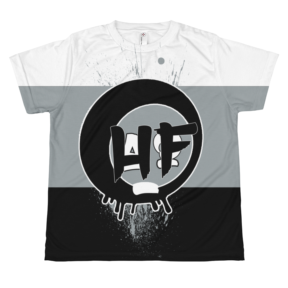 HF (Tri-Color Uptempo) Youth Sublimation T-shirt - HaveFaithClothingCo