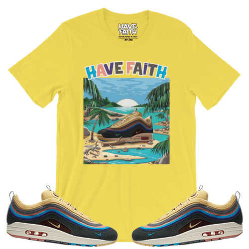 At The Beach (Sean Wotherspoon x Nike Air Max 97/1) T-Shirt - HaveFaithClothingCo