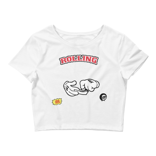 Rolling (Chicago 13s) Women's Crop Tee - HaveFaithClothingCo