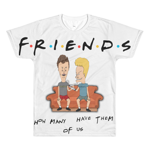 Friends (White Cement 3s) T Shirt - HaveFaithClothingCo
