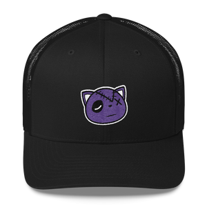 Have Faith Logo (Court Purple 1's) Trucker Cap