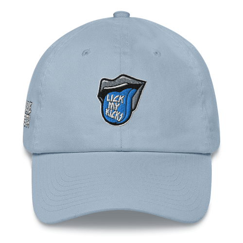 Lick My Kicks (UNC Retro 3's) Dad Hat - Shop Men, Women, Kids clothing and accessories To Match Your Kicks online