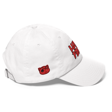 Have Faith (Varsity Red Uptempo) Dad hat - HaveFaithClothingCo