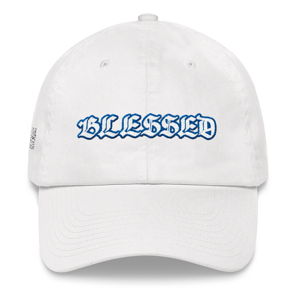 Blessed (Hyper Royal 13s) Dad hat - HaveFaithClothingCo
