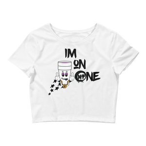 Im On One (Im Back 10s) Women's Crop Tee - HaveFaithClothingCo