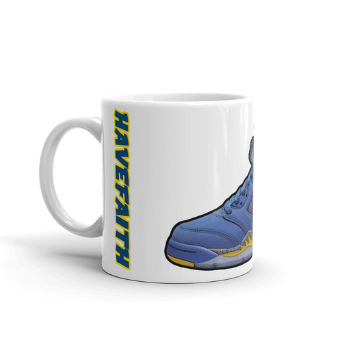 Air Jordan Retro 5 Alternate Laney Mug - HaveFaithClothingCo