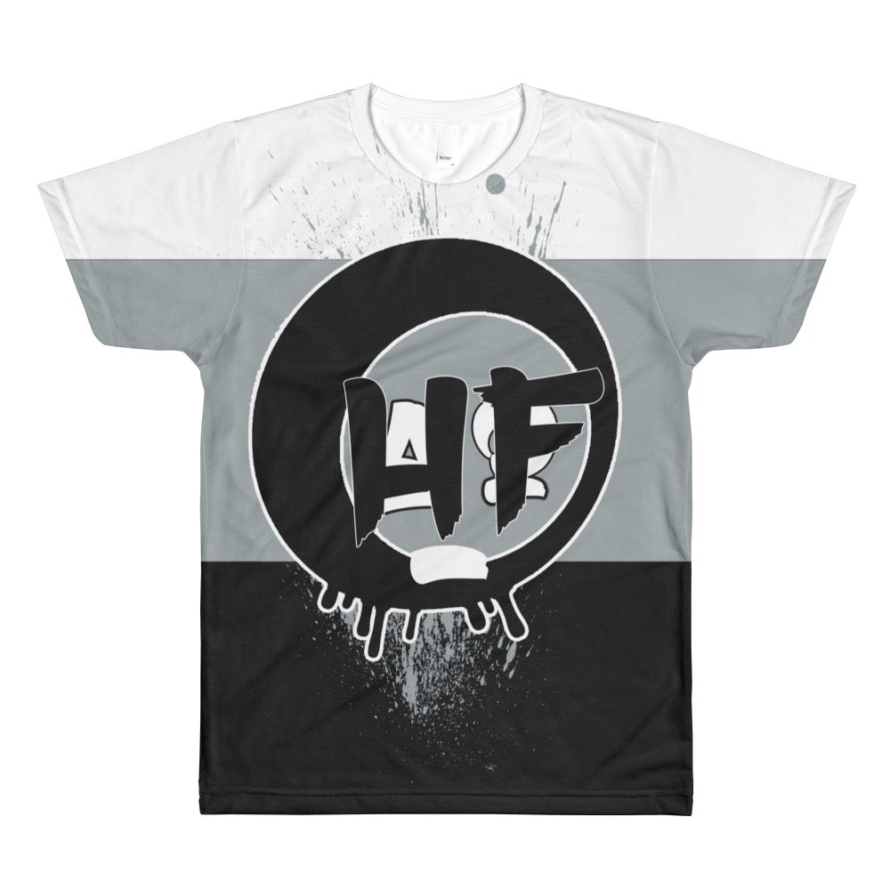 HF (Tri-Color Uptempo) T-Shirt - HaveFaithClothingCo