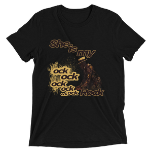 She Is My Rock (Heiress 11s) T-shirt - HaveFaithClothingCo